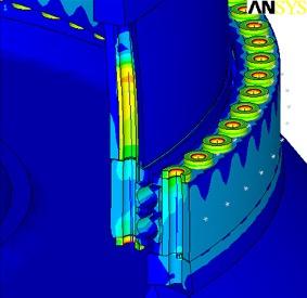 FEM-Analyse Windturbine